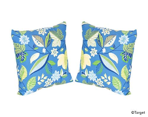 2pc Outdoor Toss Pillow Set