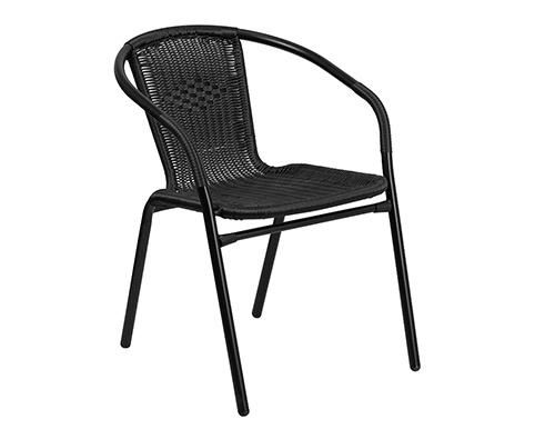 4pc Rattan Indoor/Outdoor Chair Set