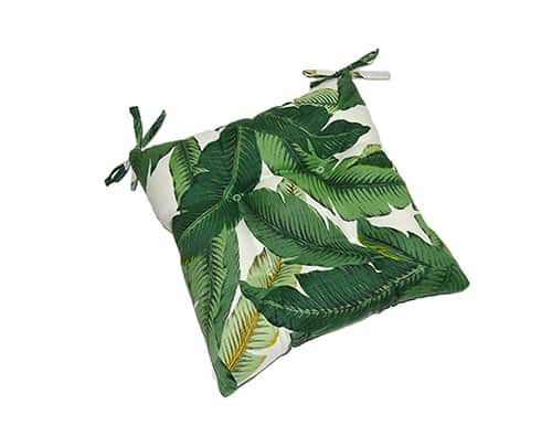 Aloe Green Tropical Palm Leaf Cushion