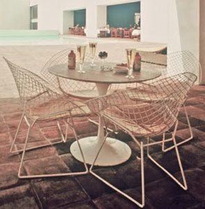 Bertoia Knoll Vintage Outdoor Furniture