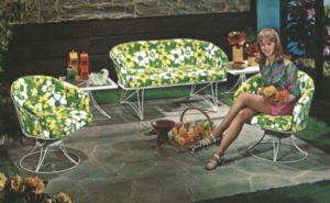 Homecrest Mid-Century Patio Set