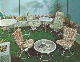 Homecrest Mid-Century Courtyard Furniture