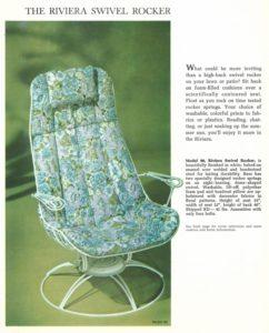 Homecrest Vintage Ad Rivera Rocker
