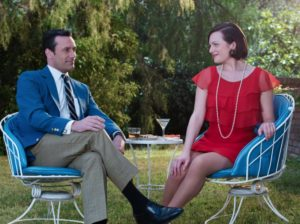 Homecrest Patio Set Featured on Mad Men