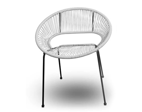 Corded Stacking Patio Chair