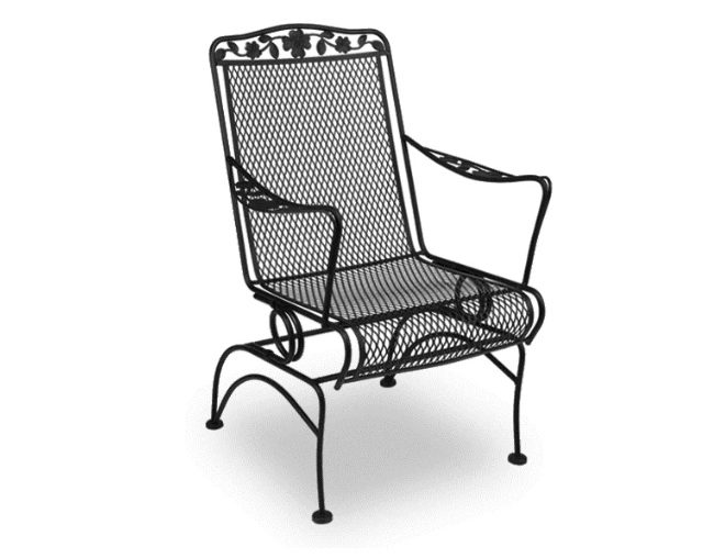 Dogwood Wrought Iron Patio Chair