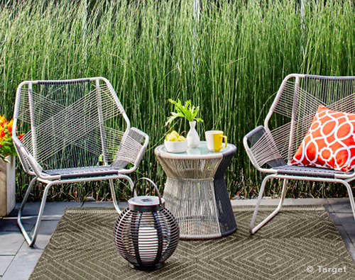 3pc Sling Rope Patio Set